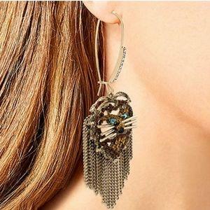 Betsey Johnson Lion Earrings